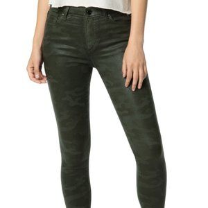 NWT Joe's Jeans The Icon Coated Laser Camo 28 $228